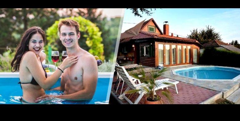 Oaza odmora za dusu i tijelo 2 ili 3 nocenja u kuci za odmor Pool Jacuzzi Dreams u Varazdinu uz koristenje bazena i zatvorene tople terase s jacuzzijem za do 6 osoba  od 1349 kn