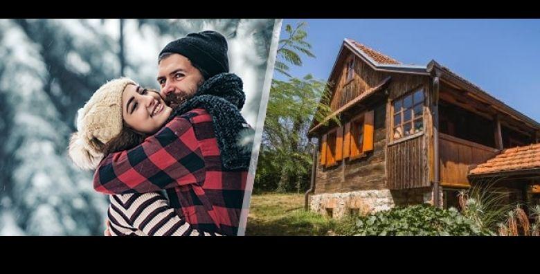 Zimski odmor s obitelji ili prijateljima u sarmantnoj rustikalnoj kuci za odmor u srcu prirode POOL VILLAGE HOUSE u Breznici poziva Vas na 3 dana i 2 nocenja za do 10 osoba