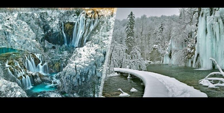 Dozivite posebnu ljepotu Plitvickih jezera tijekom zime Jednodnevni izlet autobusom u netaknutu prirodu Nacionalnog parka Plitvice uz Travel Point za samo 149 kn osobi