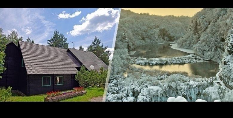 Caroban zimski odmor u najzelenijoj hrvatskoj kamping oazi  Plitvice Holiday Resort  uz 2 dana i 1 nocenje za 2 osobe u standard dvokrevetnoj sobi za samo 379 kn 1 h minigolfa GRATIS