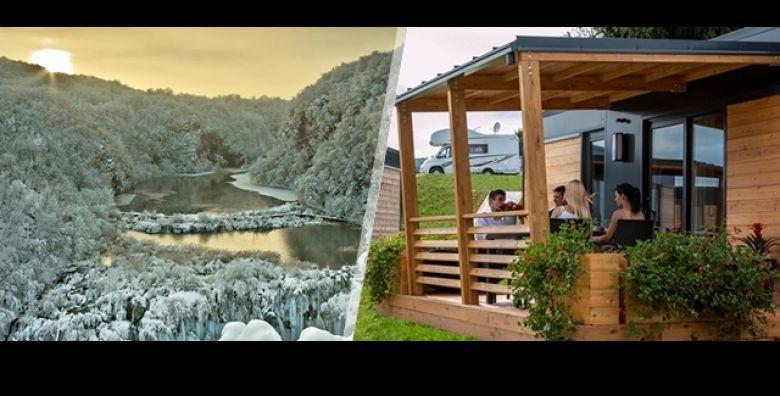Zimski odmor u carobnom okruzenju prirode Plitvice Holiday Resorta uz 2 dana 1 nocenje ili 3 dana 2 nocenja u mobilnoj kucici za do 5 osoba i vec od 999 kn Dijete do 5 godina gratis