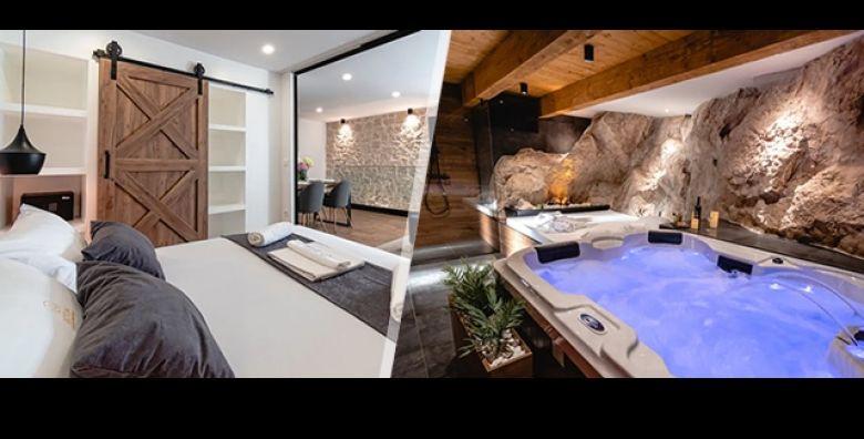 Luksuzni uzitak odmora u starom gradu Sibenika  Provedite 2 dana 1 nocenje ili 3 dana 2 nocenja za 2 osobe  2 djece gratis u Botun Luxury Apartment i uzivajte u PRIVATNOM WELLNESS SPA