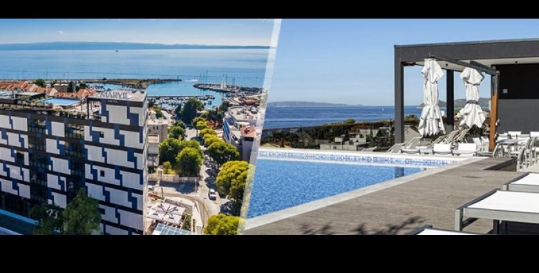 Razmazite sva osjetila odmorom u modernom i luksuznom Marvie 4 Hotel Health u Splitu Uz 2 nocenja u Superior sobi s doruckom za 2 osobe prepustite se vrhunskom wellnessu za duh i tijelo