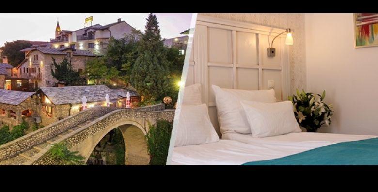 Istrazite nevidjene ljepote Mostara i odmorite se na 3 dana 2 nocenja s doruckom ili Polupansionom u prekrasnom Hotelu Kriva Cuprija 4 u srcu starog grada sve za 2 osobe i vec od 649 kn