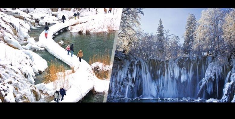 Dozivite zimsku bajku Plitvickih jezera Jedinstveni prizori prirode i vode koji ce umiriti Vase misli Smart Travel vodi Vas na 1 dnevni izlet busom za samo 145 kn osobi