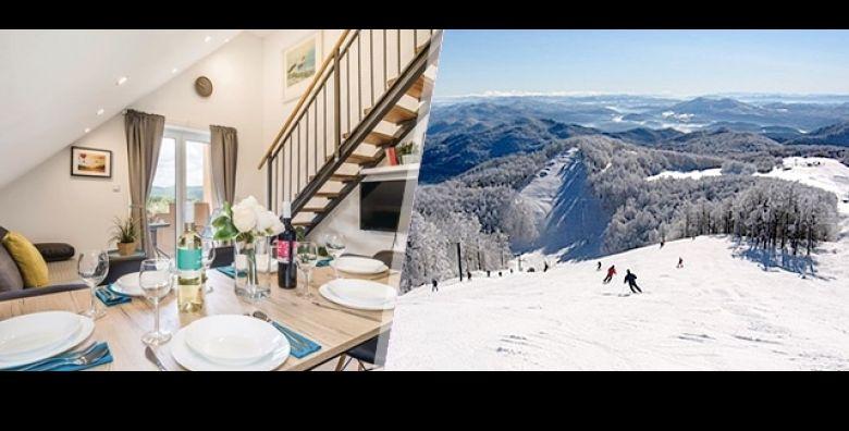 Ocaravajuca priroda i cisti planinski zrak na Bjelolasici u Gorskom Kotaru idealna su oaza na 3 dana 2 nocenja ili 6 dana 5 nocenja za 4 ili 6 osoba u apartmanima Lara  vec od samo 649 kn