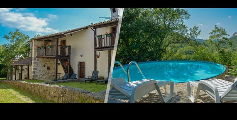 Bezbrizni predah na cistom zraku u povijesnom selu Kotli u Istri Lokalitet kulture upoznajte na 3 dana 2 nocenja u Etno Selu Kotli za do 4 osobe ovisno o opciji od samo 889 kn