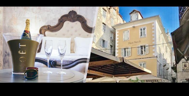 Split je odrediste za kraljevski odmor Luksuzni predah na 2 dana 1 nocenje sa ili bez dorucka u Plaza Marchi Old Town 4 uz bocu pjenusca sve za dvoje  od samo 405 kn Dugi rok iskoristivosti