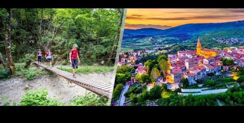 NOVO Prepustite se misticnoj ljepoti ISTRE Smart Travel vodi Vas na atraktivni odmor  STAZU SEDAM SLAPOVA uz jednodnevni izlet busom za samo 189 kn osobi