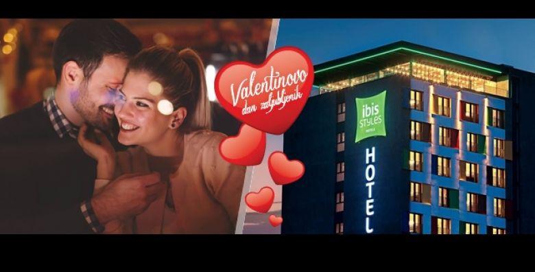 Mjesec zaljubljenih i VALENTINOVO u SARAJEVU Uzivajte u luksuznom Ibis Styles Hotelu uz 2 dana 1 nocenje s doruckom i bogatom wellness spa centru  kino ulaznice sve za 2 osobe