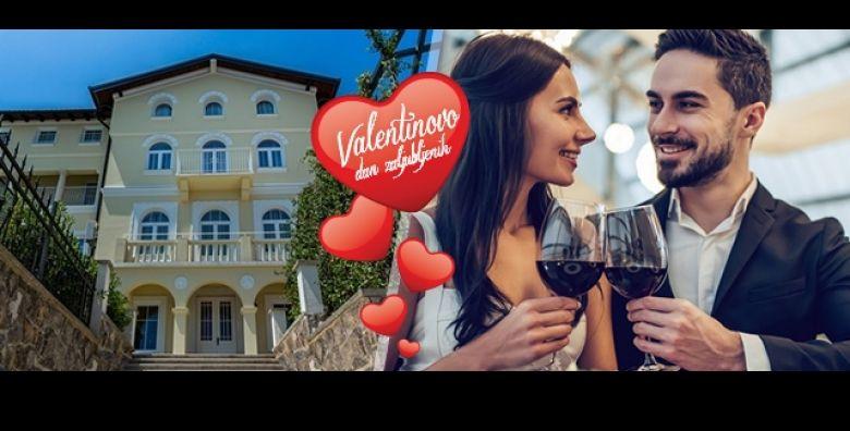 Dasak romantike u bajnoj Opatiji Proslavite VALENTINOVO na 3 dana 2 nocenja s doruckom i svecanim vecerama u Hotelu Domino 4 uz koristenje wellnessa i aperitivima sve za 2 osobe