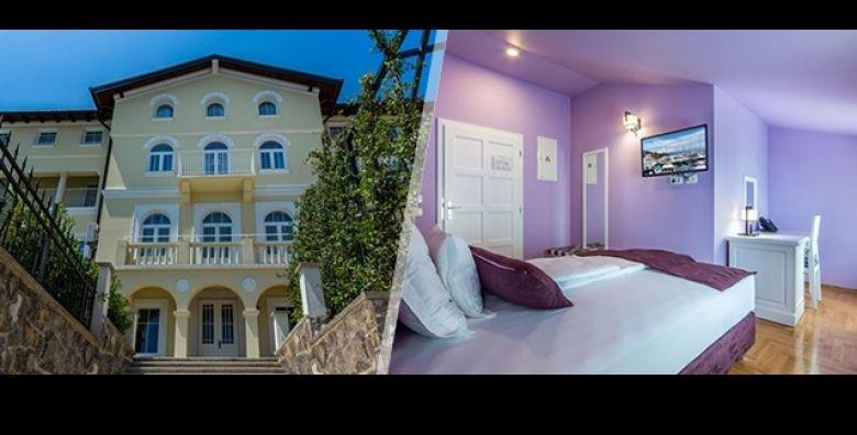Spektakularni Hotel Domino 4 u Opatiji poziva Vas na fantasticni wellness predah na 3 dana 2 nocenja s POLUPANSIONOM za 2 osobe uz GRATIS parking od samo 1195 kn