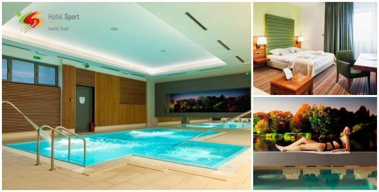 Wellness u Hotelu Sport 4  1 ili vise nocenja s doruckom za 2 osobe uz koristenje sauna bazena i relax zone te aromamasaze u paru pice dobrodoslice i kolac kuce od 389 kn