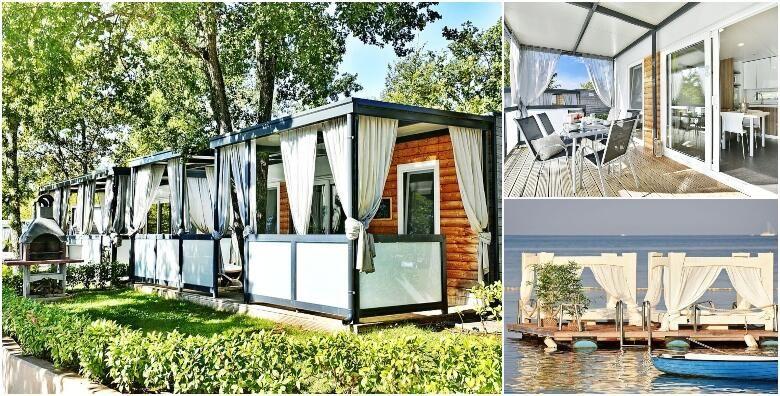 Funtana  2 nocenja za 4 osobe u dizajniranim mobilnim kucicama Polidor Camping Parka 4 uz neograniceno koristenje djecje igraonice i fitnessa od 810 kn