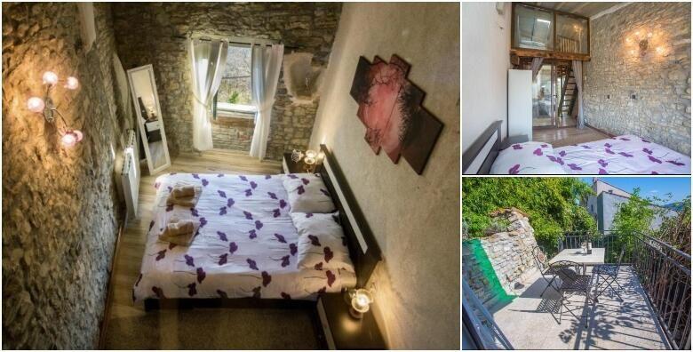 MOTOVUN  probudite se uz caroban pogled na stari grad Motovuna uz 2 nocenja za 2  4 osobe u Villi Luna 3 od 738 kn