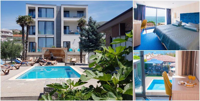 Split  uzivajte u luksuzno uredjenom Beach Hotelu Bozikovina 3 smjestenom tik do mora uz 2 nocenja s polupansionom za 2 osobe za 1 000 kn