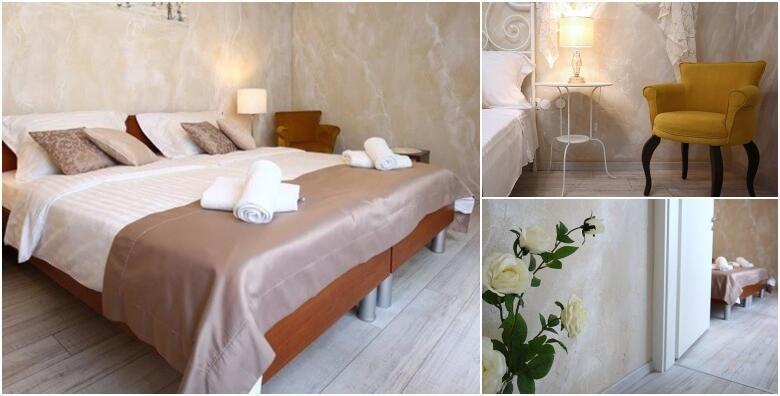 SPLIT  1 ili vise nocenja za dvoje i gratis boca sampanjca u luksuznim sobama 3 nedaleko od Dioklecijanove palace od 225 kn