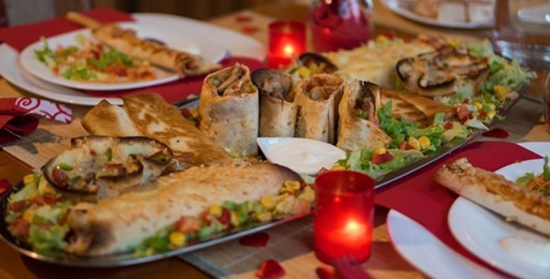 Uzivajte u specijalitetima meksicke kuhinje za dvije osobe za 199 kn