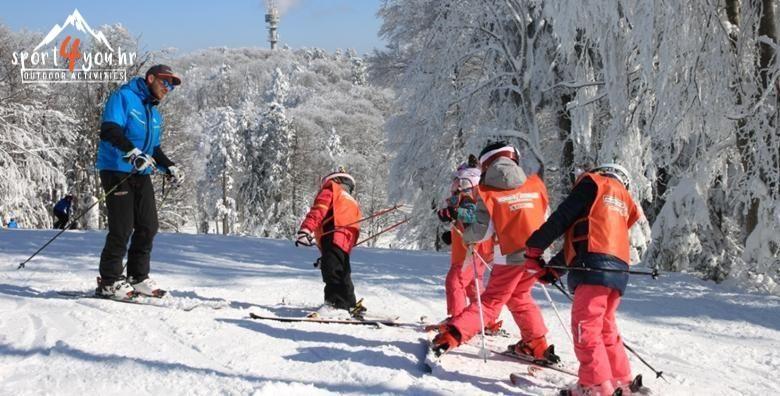 Skola skijanja na Sljemenu za djecu i odrasle  2 dana s ukljucenom opremom u organizaciji Sport4you EKSKLUZIVNO na Ponudi dana za 449 kn