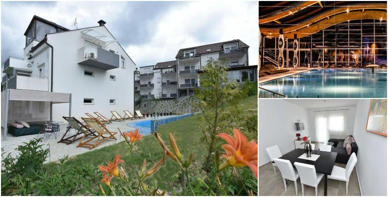 Toplice Sv Martin  docekajte Novu godinu u luksuznim apartmanima Lapaz 4 uz 3 nocenja s doruckom za 2 osobe i koristenje wellness centra za 2 199 kn