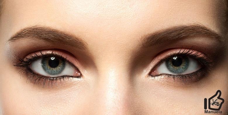 THREADING OBRVA  najpreciznija metoda oblikovanja obrva koja zahvaca i najkrace dlacice s ili bez bojanja obrva u Studiju ljepote Manuela vec od 55 kn