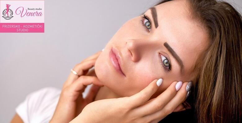 Vrhunski 5u1 tretman njege lica  radiofrekvencija piling ciscenje maska i masaza lica u Beauty studiju Venera za 199kn
