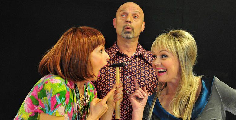 Predstava Dekorater  urnebesno smijesna komedija o ljubavnom trokutu u izvedbi Ksenije Pajic Ana Marije Percaic i Gorana Grgica za samo 49 kn
