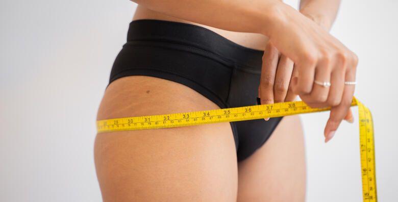 Paket za mrsavljenje  dovedite tijelo u zavidnu formu tretmanima za uklanjanje celulita u Kozmetickom salonu Sonja za 399 kn