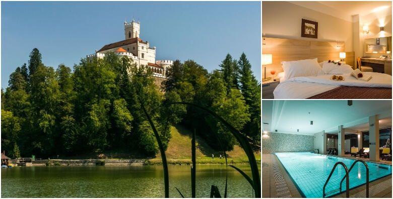 Hotel Trakoscan 4  dozivite zimsku bajku uz 1 ili 2 nocenja s polupansionom za 2 osobe s koristenjem hotelskog bazena i finske saune od 749 kn