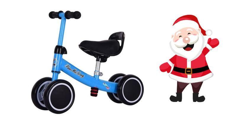 Djed Bozicnjak je uranio  odaberite djecju guralicu na 4 kotaca ili djecji bicikl bez pedala i priustite svojim malisanima nezaboravan Bozic za 199 kn