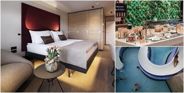 Uzivajte u wellness odmoru na Bledu  1 ili 2 nocenja s doruckom za 2 osobe u Hotelu Rikli Balance 4 uz neograniceno kupanje u termalnim bazenima od 825 kn