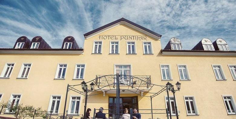 Zagreb  dozivite dasak proslosti u boutique Hotelu Puntijar 4 uz 2 nocenja za 2 osobe s doruckom i 2 vecere prema receptima hrvatske kuhinje za 870 kn