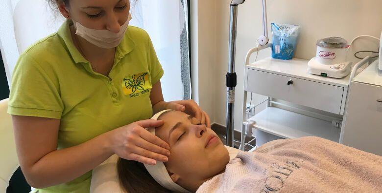 Dijamantna mikrodermoabrazija UZV lica i Sothys maska  tretmani u Studiju Miris za njegovanu kozu Vaseg lica za 219 kn