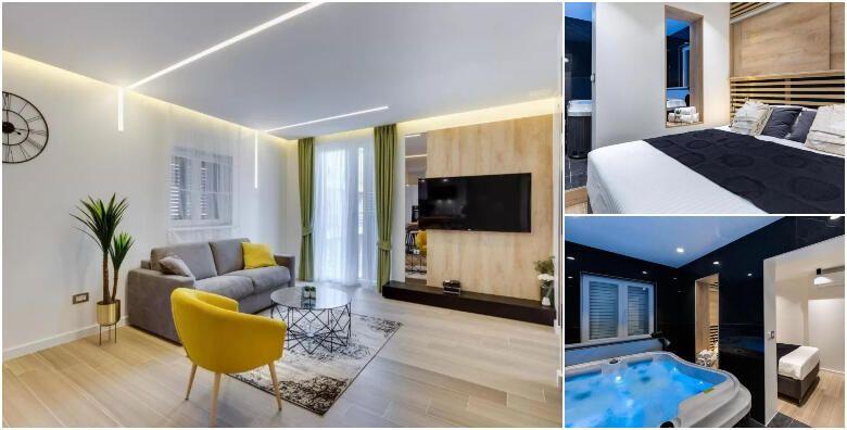 Zadar  1 ili 2 nocenja u Marcius Luxury Apartment 4 za do 4 osobe uz neograniceno koristenje jacuzzija i finske saune u samom centru grada od 720 kn