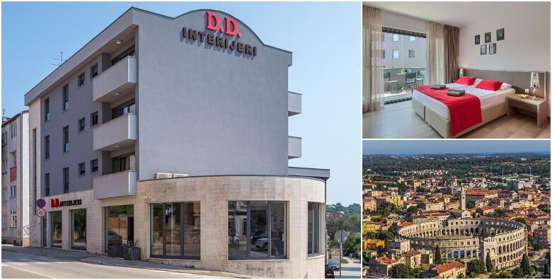 PULA  2 nocenja za 2 osobe u dvokrevetnoj sobi Premium s ukljucenim doruckom u Pula City Center Accommodation 4 za 999 kn