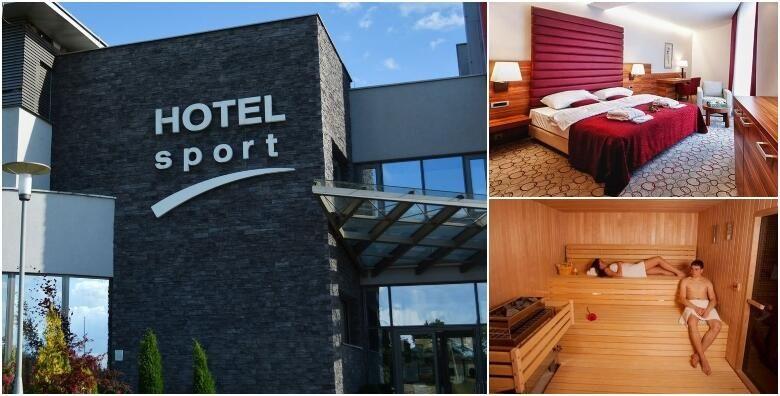 Wellness u Hotelu Sport 4  1 ili vise nocenja s doruckom za 2 osobe uz besplatno koristenje sauna unutarnjeg bazena relax zone te aromamasaze u paru od 495 kn