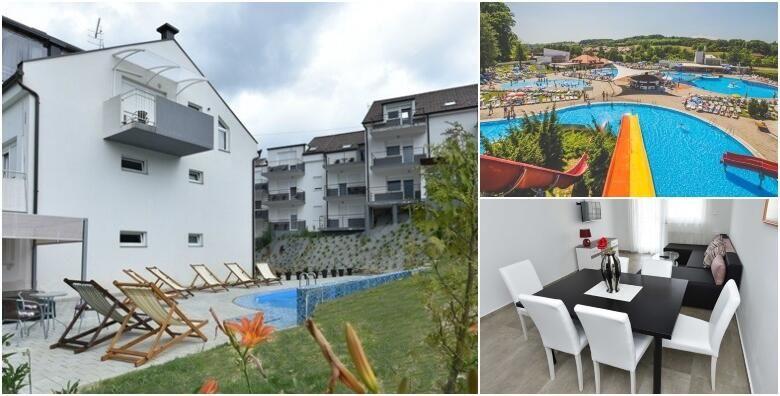 Toplice Sv Martin  2 nocenja za dvoje u apartmanima Lapaz 4 s doruckom i kupanjem u termama iskoristivo preko vikenda za 899 kn