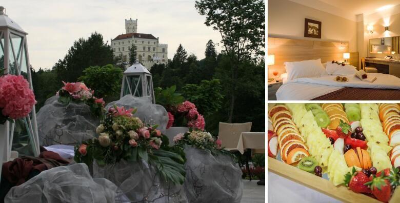 Hotel Trakoscan 4  provedite Valentinovo uz romanticni dnevni odmor za 2 osobe s ukljucenom vecerom i koristenjem wellness i SPA sadrzaja po super cijeni za 499 kn