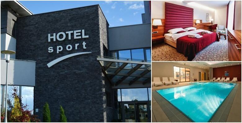 Wellness oaza u Hotelu Sport 4  1 ili 2 nocenja s polupansionom za 2 osobe uz besplatno koristenje saune unutarnjeg bazena relax zone i teretane od 349 kn
