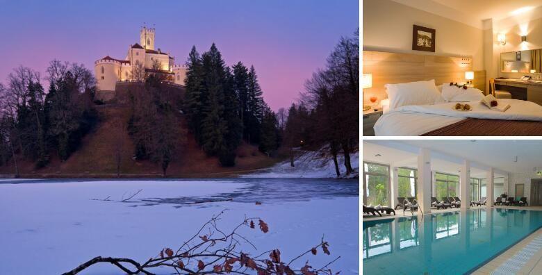 Hotel Trakoscan 4  dan zaljubljenih provedite uz 2 nocenja s polupansionom za 2 osobe uz koristenje wellness i SPA sadrzaja po odlicnoj cijeni za 1 419 kn