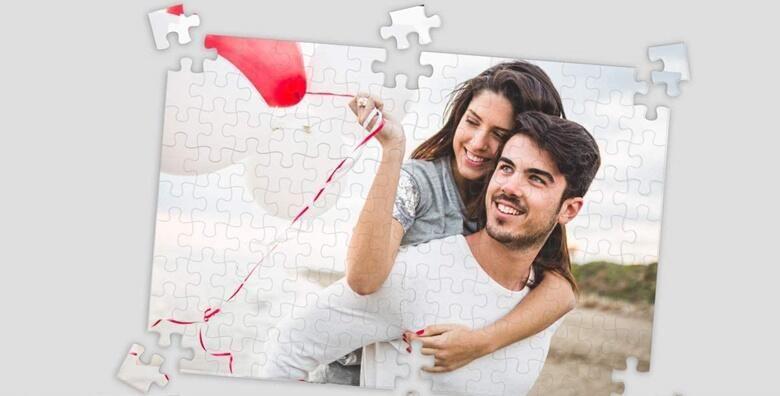 Personalizirane klasicne ili super magnetne puzzle s fotografijama dragih ljudi i posebnih trenutaka po vasem izboru vec od 39 kn