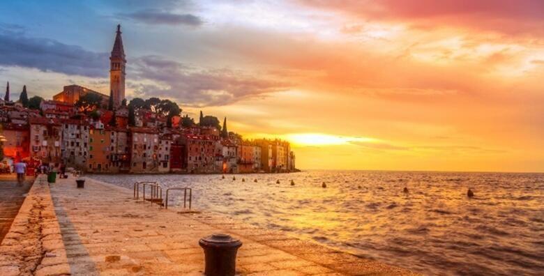 Uzivajte u mediteranskom duhu istarskih destinacija posjetite Vodnjan i Bale te se prepustite caroliji romanticnih uskih ulica Rovinja za 245 kn