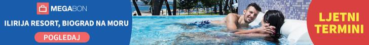 Megabon Ilirija Resort Biograd na Moru